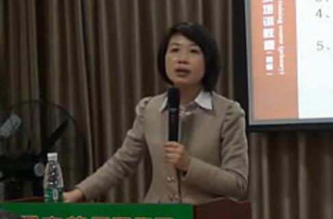 张微在衡阳绿之韵健康教育上的讲演