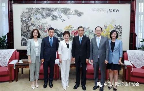 林松添会长访问安利(中国)总裁余放 直销100